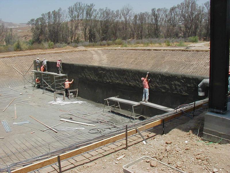 Corona Baffle Project - Southwest V-Ditch, Inc.
